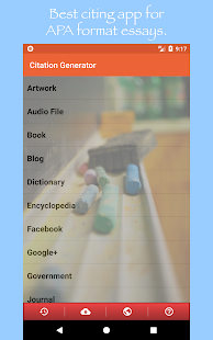 Citation Generator- screenshot thumbnail
