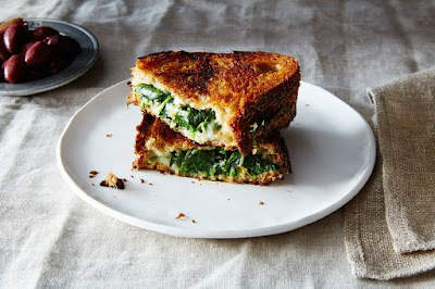 Spanakopita, meet grilled cheese