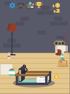 Bitcoin mining Screenshot