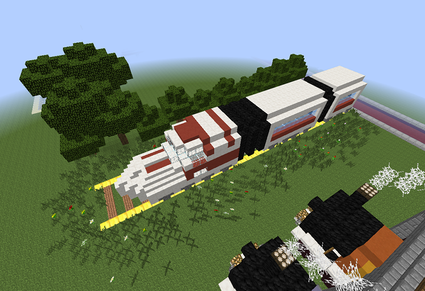 Amazing Trains Ideas Minecraft Android Apps On Google Play