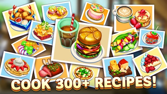 Diner DASH Adventures MOD Apk 1.13.2 (Unlimited Coins/Hearts) 3