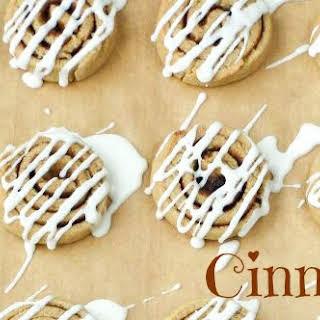 Cinnamon Roll Cookies.