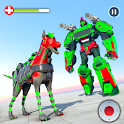 Dog Robot Transformation: Real Dog Robot War icon