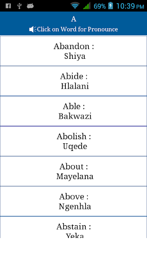 Common Words English to Zulu by MBSAit (Google Play, United