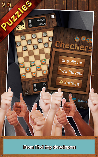 Thai Checkers - Genius Puzzle - u0e2bu0e21u0e32u0e01u0e2eu0e2du0e2a 3.5.150 screenshots 19