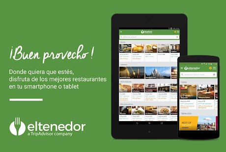 ElTenedor  Restaurantes España: miniatura de captura de pantalla