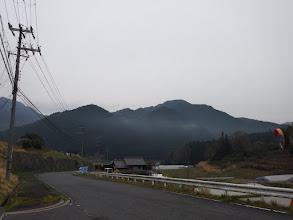 駐車地付近からタコラ山