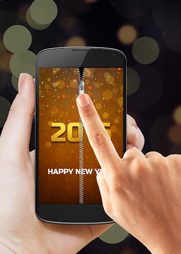 新的一年2015年拉链锁