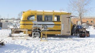 Tiny School Bus Abode