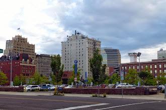 Photo: Downtown Spokane. Not a bad skyline.