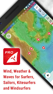Windfinder Pro - weather & wind forecast Screenshot