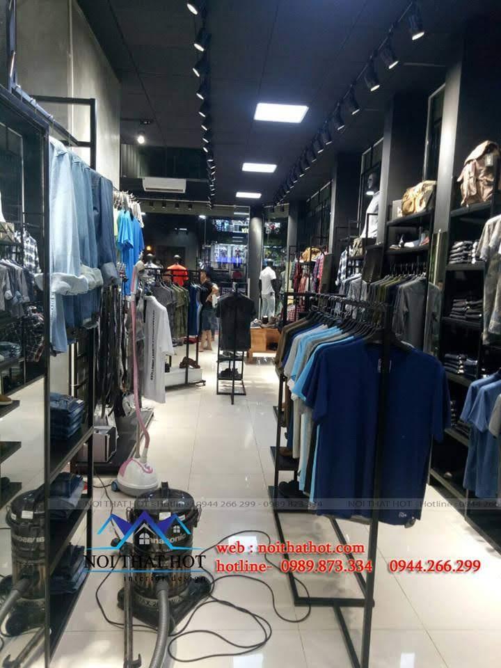 thiết kế shop thời trang nam H2T 25