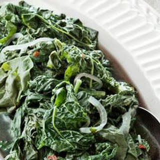 Braised Early-Spring Greens