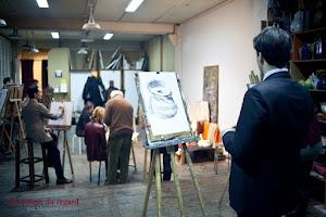 Un atelier d'artiste