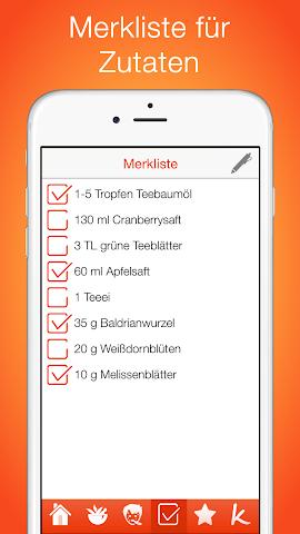 android Natürliche Hausmittel Screenshot 4