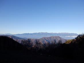 中央アルプス(左端に恵那山も)