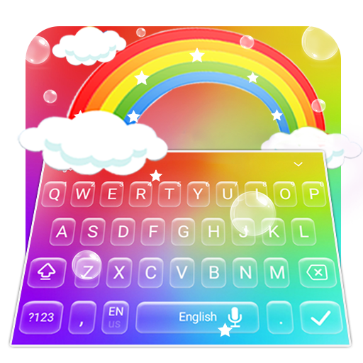 Rainbow Keyboard Theme