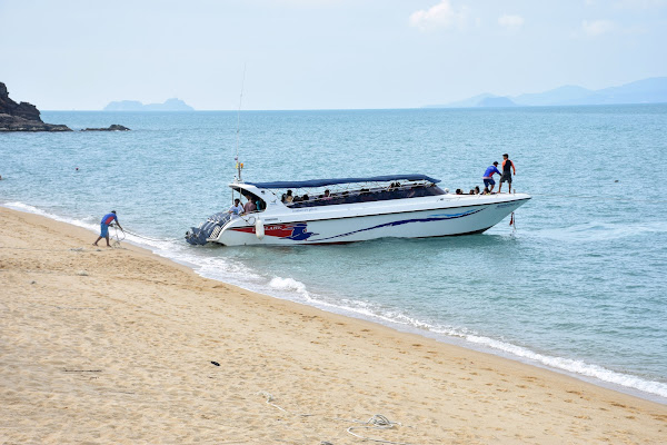 Depart from Bang Rak Pier on Koh Samui