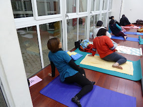 Photo: 20110316健康活力瑜珈001