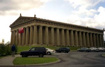 Photo: kopie Pantheonu v Nashville
