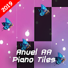 Piano Keyboard Magic Tiles Master Anuel AA China icon