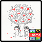 Love Tree DodolLauncherTheme