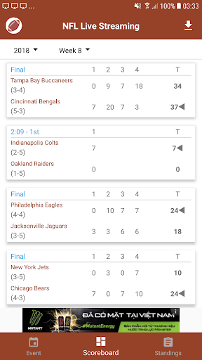 NFL Live Streaming 14 screenshots 2