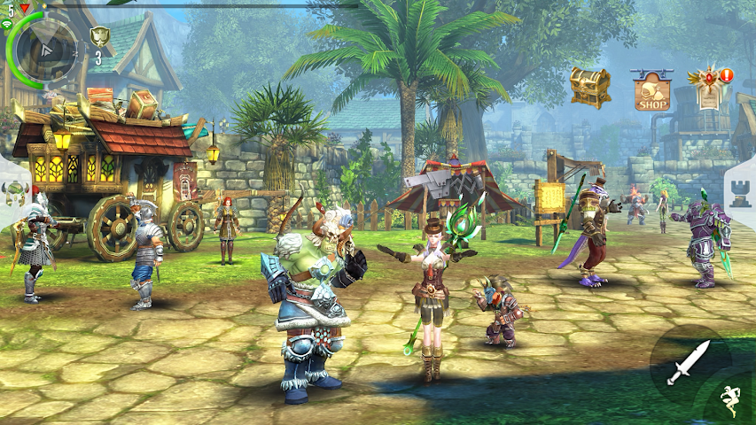 android Order & Chaos 2: Redemption Screenshot 5