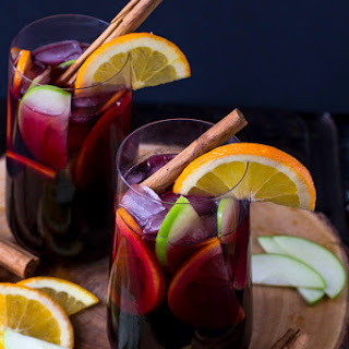 Red Sangria With Cinnamon Recipes.