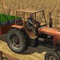 Farm Transport Tractor Driver icon
