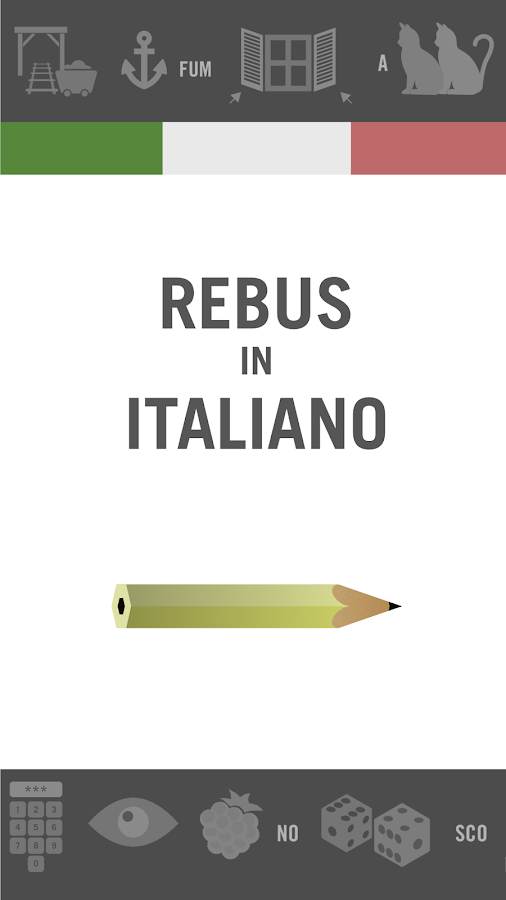 Rebus in italiano- screenshot