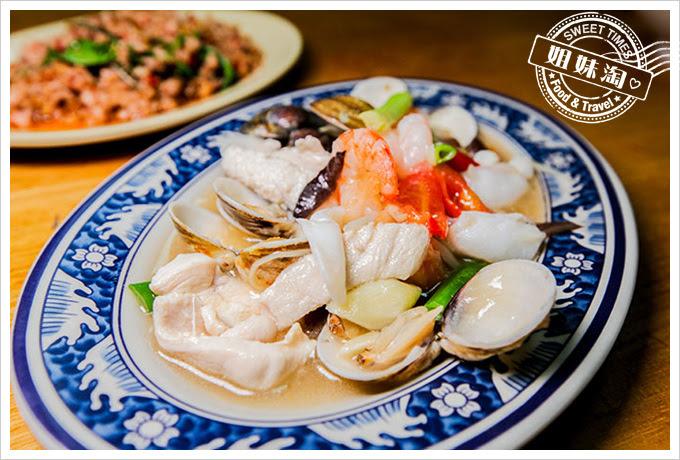 泰式現炒小吃什錦海鮮
