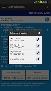 London Oyster Contactless- screenshot thumbnail