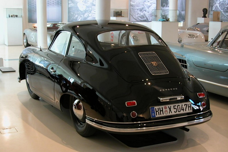 Photo: A rare Porsche prototype.