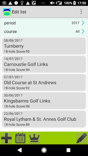 Golf Score Management Photo 1.5.0.3 Windows u7528 1