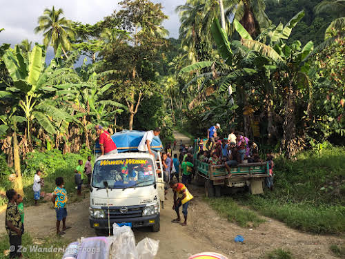 Indonesia Papua New Guinea Border Crossing // On the way to Wewak