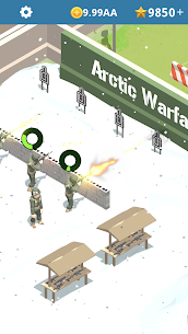 Idle Army Base Mod Apk 1.22.5 (Unlimited Money and Stars) 3