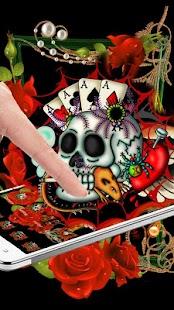 Ace Rose Skull - náhled