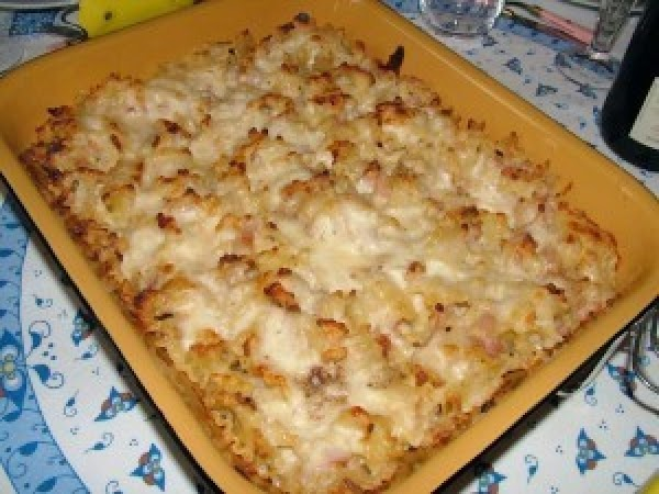 Baked Pasta With Béchamel And Parmesan Recipe