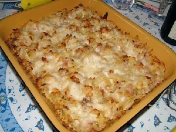 Baked Pasta With Béchamel And Parmesan