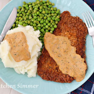 Masala Chicken Fried Steak.