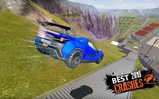 Car Crash Beam  Drive Sim: Death Stairs Jump Down 1.2 screenshots 8