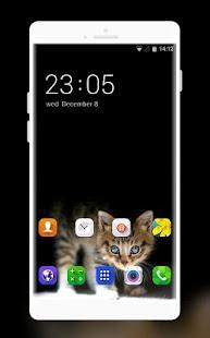 Theme for Videocon V1533 Dark Cat Wallpaper - náhled