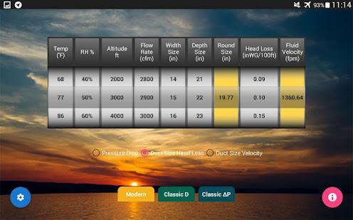 App HVAC Duct Calculator APK for Windows Phone