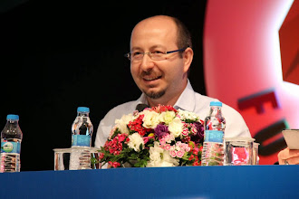 Photo: Panel konuşmacılarından Mehmet Nuri ÇANKAYA Microsoft Bölge Pazarlama Müdürü konuşmasını yaparken... www.gelecekgunu.org