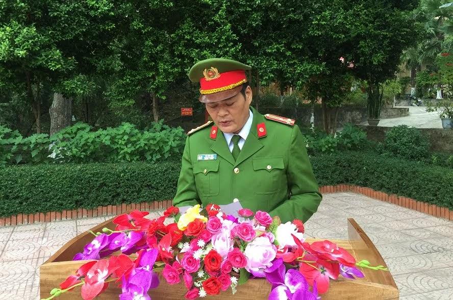 """Thượng tá Tô Văn Hậu, Trưởng Công an huyện Kỳ Sơn phát động quyên góp ủng hộ """"Tết vì người nghèo năm 2020"""""""