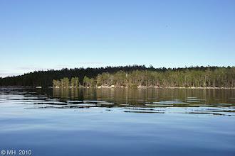 Photo: Kiimesvaaran rantoja ja Tervahautasaari. 1.8.2010