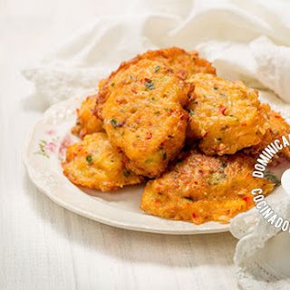 Bacalaitos Recipe (Codfish Fritters).