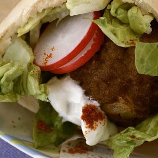 Turkey-Meatball Pitas