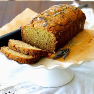 Lavendar Pound Cake (Grain-Free)